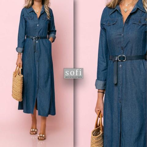 Φόρεμα τζιν μπλε